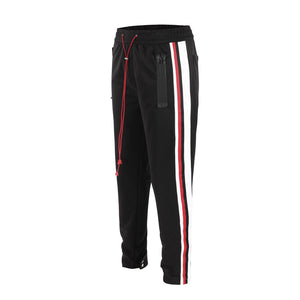 Retro Trackpants S4 - Black - Insurgence Wear - Affordable Streetwear Essentials
