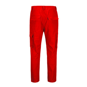 Multi-purpose Cargo Pants - Red