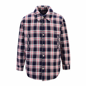 Oversized Plaid Pocket Shirt - Red - Insurgence Wear - Affordable Streetwear Essentials
