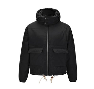 Oversized Parka Bubble Jacket - Black - Insurgence Wear - Affordable Streetwear Essentials
