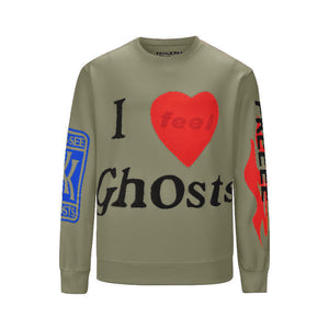 I Feel Ghosts Sweatshirt - Insurgence Wear - Affordable Streetwear Essentials