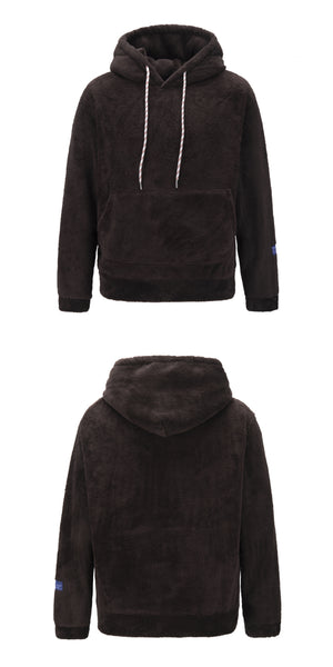 Premium Sherpa Hoodie v2 - Brown - Insurgence Wear - Affordable Streetwear Essentials