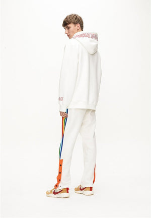 Rainbow Grandpa Pants - White - Insurgence Wear - Affordable Streetwear Essentials