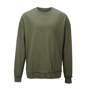 Rugged Oversized Sweatshirt - Olive - Insurgence Wear - Affordable Streetwear Essentials