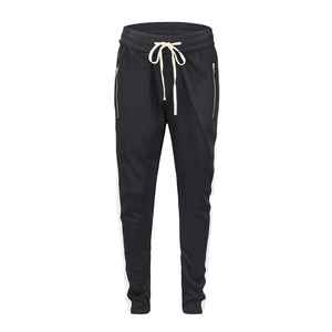 Retro Trackpants S1 - Black / Yellow - Insurgence Wear - Affordable Streetwear Essentials
