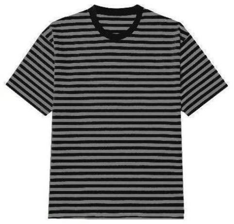 Oversized Striped Tee - Dark - Premium Quality & Affordable Streetwear