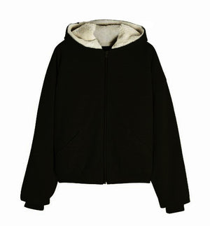 Premium Full Zip Fleece Zipper Hoodie - Black - Insurgence Wear - Affordable Streetwear Essentials