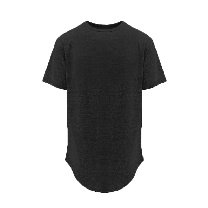 Basic Split Back Tee - Black - Insurgence Wear - Affordable Streetwear Essentials