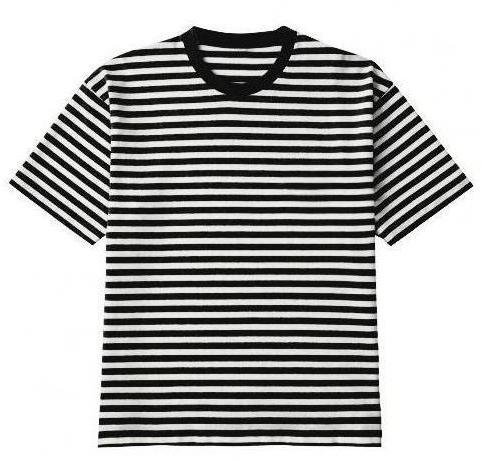 Oversized Striped Tee - Light - Premium Quality & Affordable Streetwear
