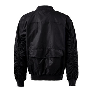 Dual Zip Bomber - Black - Insurgence Wear - Affordable Streetwear Essentials