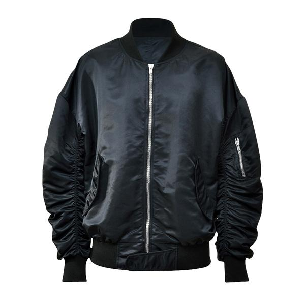 Essential Bomber Jacket - Black - Insurgence Wear - Affordable Streetwear Essentials