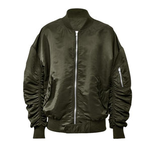 Essential Bomber Jacket - Olive - Insurgence Wear - Streetwear Essentials