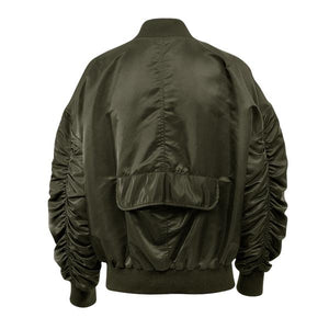 Essential Bomber Jacket - Olive - Insurgence Wear - Affordable Streetwear Essentials