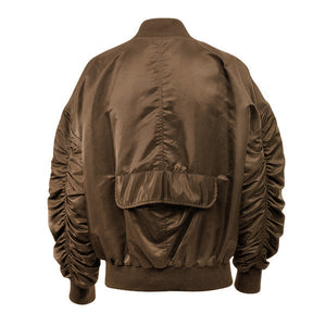Essential Bomber Jacket - Tan - Insurgence Wear - Affordable Streetwear Essentials