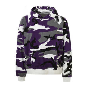 Camo Hoodie - Purple - Insurgence Wear - Affordable Streetwear Essentials