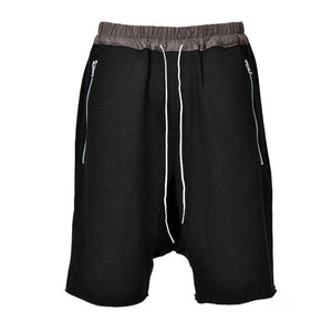 Essential Drop Crotch Shorts S1 - Black - Insurgence Wear - Affordable Streetwear Essentials