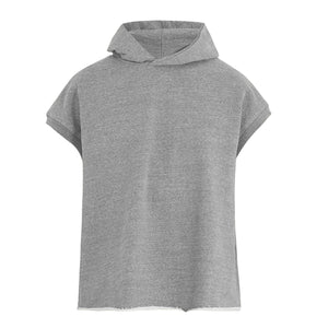 Sleeveless Hoodie - Grey - Insurgence Wear - Affordable Streetwear Essentials