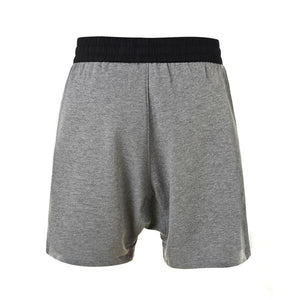 Terry Drop Crotch Shorts - Grey - Premium, Affordable Streetwear