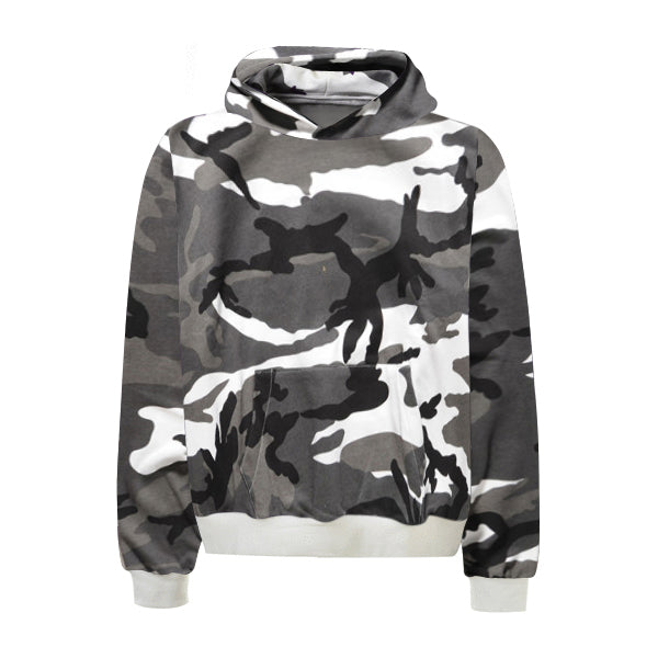 Camo Hoodie - Black - Insurgence Wear - Streetwear Essentials