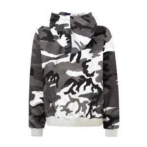Camo Hoodie - Black - Quality Affordable Streetwear