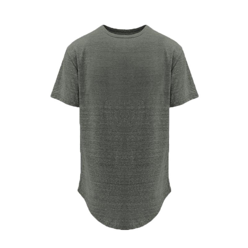 Basic Split Back Tee - Grey - Insurgence Wear - Affordable Streetwear Essentials