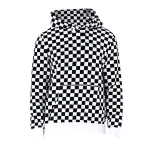 Checkered Hoodie - Insurgence Wear - Affordable Streetwear Essentials