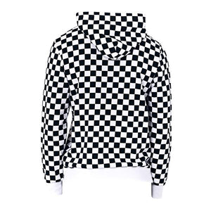 Checkered Hoodie - Quality Affordable Streetwear - Insurgence Wear