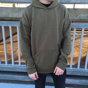 Essential Oversized Hoodie - Olive - Insurgence Wear - Affordable Streetwear Essentials