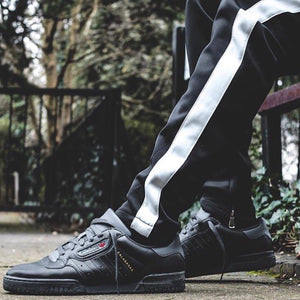 Retro Trackpants S1 - Black / White - Premium Quality & Affordable Streetwear