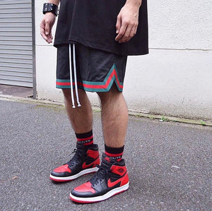Sports Mesh Shorts S2 - Black - Premium Quality & Affordable Streetwear