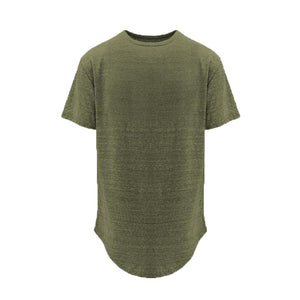 Basic Split Back Tee - Olive - Insurgence Wear - Affordable Streetwear Essentials