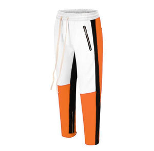 Retro Trackpants S3 - Orange / Black - Insurgence Wear - Affordable Streetwear Essentials