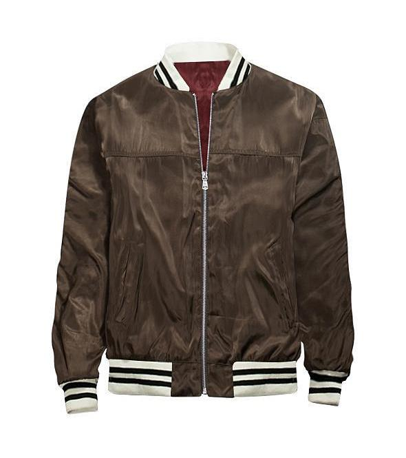 Velvet Brown Bomber Jacket - Premium Quality & Affordable Streetwear