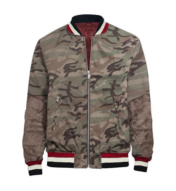 Camo Bomber Jacket - Premium, Affordable Streetwear