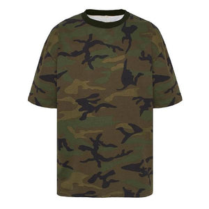 Camo Oversized Tee - Quality Affordable Streetwear - Insurgence Wear