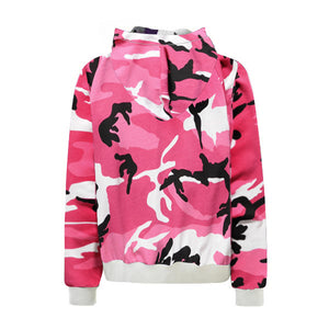 Camo Hoodie - Pink - Insurgence Wear - Affordable Streetwear Essentials