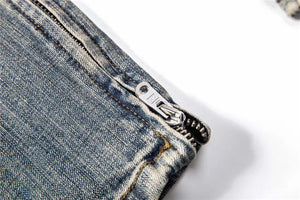 Destroyed Selvedge Denim - Blue - Insurgence Wear - Affordable Streetwear Essentials