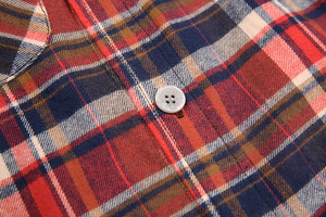 Overszied Flannel Shirt - Cherry - Insurgence Wear - Affordable Streetwear Essentials