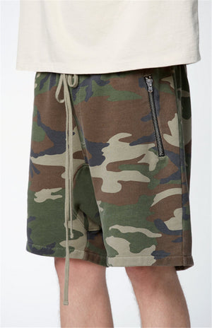 Essential Terry Shorts - Camo - Insurgence Wear - Affordable Streetwear Essentials