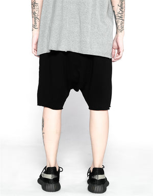 Essential Drop Crotch Shorts S2 - Black - Quality Affordable Streetwear