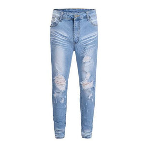 Distressed Denim - Blue - Insurgence Wear - Affordable Streetwear Essentials