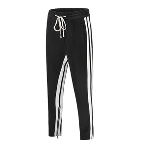 Dual Striped Trackpants - Black - Insurgence Wear - Affordable Streetwear Essentials