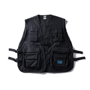 Military Vest - Black - Insurgence Wear - Affordable Streetwear Essentials