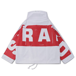 Oversized STRAED Jacket - Red - Quality Affordable Streetwear