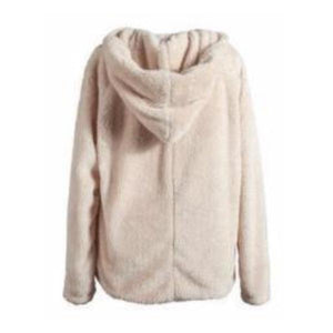 Premium Sherpa Hoodie - Beige - Insurgence Wear - Affordable Streetwear Essentials