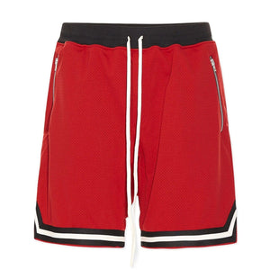 Sports Mesh Shorts S1 - Red - Insurgence Wear - Affordable Streetwear Essentials