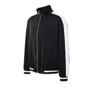 Retro Trackjacket - Black / White - Insurgence Wear - Streetwear Essentials