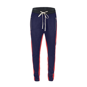 Retro Trackpants S2 - Blue double Red - Insurgence Wear - Affordable Streetwear Essentials