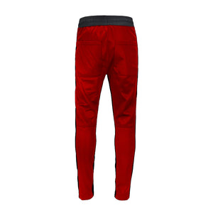 Retro Trackpants S2 - Red double Black - Insurgence Wear - Affordable Streetwear Essentials