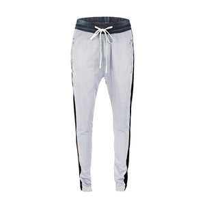 Retro Trackpants S1 - White / Black - Insurgence Wear - Affordable Streetwear Essentials